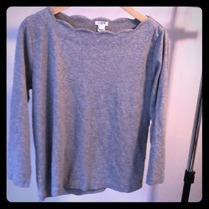 JCrew light weight sweatshirt top